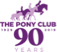 pony club birthday logo